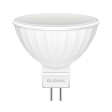 Лампа светодиодная MR16 LED 3 Вт 4100К GU5.3 GLOBAL