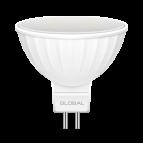 Лампа светодиодная MR16 LED 5 Вт 4100К GU5.3 GLOBAL