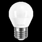 Лампа светодиодная G45 LED  5 Вт 3000К E27 GLOBAL