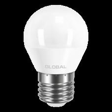 Лампа светодиодная G45 LED  5 Вт 4100К E27 GLOBAL