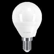 Лампа светодиодная G45 F LED 5 Вт 3000К E14 GLOBAL