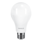Лампа светодиодная A70 LED 15 Вт 4100К E27 MAXUS