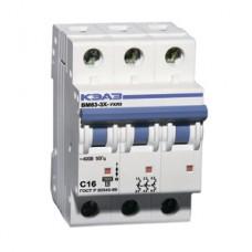 Автоматический выключатель ВМ63-3С20-УХЛ3 4,5кА КЭАЗ