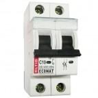 Автоматический выключатель Ecomat 2p C10А Eltis
