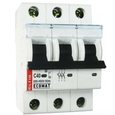 Автоматический выключатель Ecomat 3p C20А Eltis