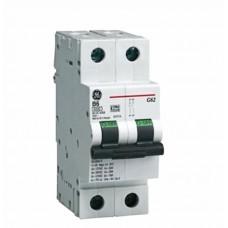 Автоматический выключатель G62 2Р C20A 6кА General Electric