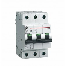 Автоматический выключатель G63 3Р C40A 6кА General Electric