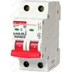 Модульный автоматический выключатель e.mcb.stand.45.2.C10, 2р, 10А, C, 4,5 кА  E.NEXT