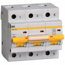 Автоматический выключатель ВА47-100 3P 32A 10кА  IEK