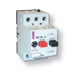 Автоматические выключатели защиты двигателей (автоматы) MS 25 (20 - 25) ETI
