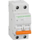 Автоматический выключатель двухполюсный  Schneider BA 63 1P+N 10А