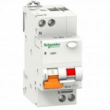 Дифференциальный автомат АД63 2P 25A / 30mA Schneider