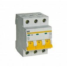 Автоматический выключатель ВА47-29 3P 50A 4,5кА  IEK