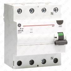 Устройство защитного отключения ВРС 4p 40A / 30mA GE