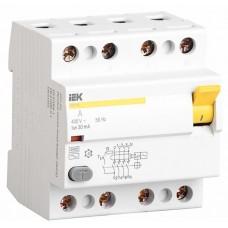 Устройство защитного отключения ВД1-63 4P 63A / 30mA IEK