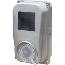 Шкаф пластиковый e.mbox.stand.plastic.n.f1 под однофазный счетчик, навесной c комплектом метизов E.NEXT