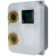 Шкаф пластиковый e.mbox.stand.plastic.n.f3 под трёхфазный счетчик, навесной, с комплектом метизов E.NEXT