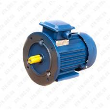 Однофазный электродвигатель АИРЕ 80 B4 (АИРЕ80B4) 1,1 кВт 1500 об/мин (крепление комби)