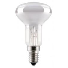 Лампа зеркальная (R80) Е27 100Вт Delux