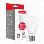 Лампа светодиодная A60 LED 10 Вт Е27 4100К MAXUS