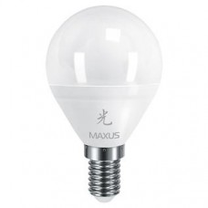 Лампа светодиодная G45 LED 8 Вт 4100К E14 MAXUS