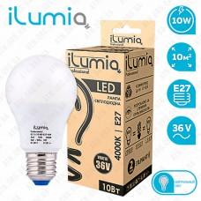 Лампа светодиодная MO 10w 4000K 36B E27 ilumia