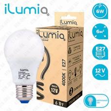 Лампа светодиодная MO 6w 4000K 12B E27 ilumia