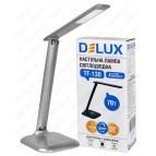 Светильник светодиодный настольный TF-130 3000К/6000К 7Вт серый DELUX