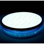 Светильник светодиодный (круг с декор., с син. обод, с пультом) SVT-50W 3000-6500К IP20 Brixoll