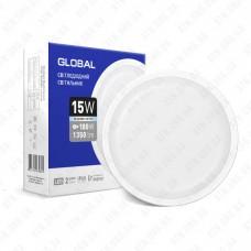 Светильник светодиодный GLOBAL LED 15Вт 5000К IP65