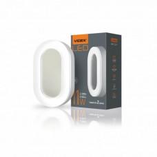LED светильник ART (ЖКХ) овальный VIDEX 11W 5000K 220V (24шт\ящ)