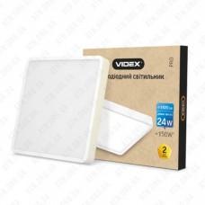 Светильник светодиодный накладной LED (ЖКХ) 24W, 5000K, угол 120 ° VIDEX
