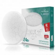 LED светильник настенно-потолочный TITANUM 24W 4100K 220V (TLCL-24C) Кольца 5шт/ящ