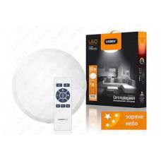 LED светильник функциональный круглый (STAR) VIDEX 60W 2800-6000K 220V