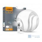 LED светильник функциональный круглый Wave VIDEX 72W 2800-6000K 220V