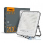 LED прожектор VIDEX PREMIUM 200W 5000K 220V White