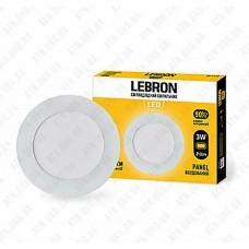Светильник светодиодный встраиваемый LED L-PR-341, 3W, 4100K, 210лм, угол 120 ° LEBRON