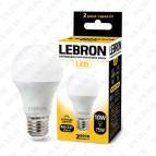 Лампа светодиодная LED L-A60 10W 4100К Е27 Lebron