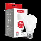 Лампа светодиодная A60 LED 10 Вт Е27 3000К MAXUS