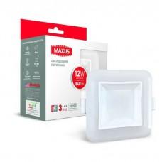 Комбинированный точечный LED светильник MAXUS SDL 3-step 12W 3000/4100K (1-MAX-01-3-SDL-12-S)