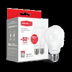 Лампа светодиодная A60 LED 10 Вт Е27 4100К (комплект -2 шт) MAXUS