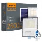 LED прожектор VIDEX (автономный) 30W 5000K 220V White