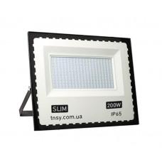 Прожектор LED 200W Ultra Slim 180-260V 18000Lm 6500K IP65 SMD TNSy