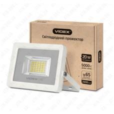 LED прожектор PREMIUM 20W 5000K 1300Lm White VIDEX