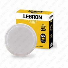 Светильник светодиодный накладной LED L-WLR-1241, 12W, 4100K IP54 LEBRON