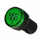 Вольтметр цифровой AD22-22 DVM зеленый