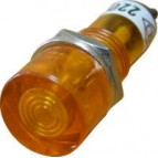 PL1-101 220В Сигнальная арматура (желтая) Аско