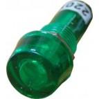 PL1-101 220В Сигнальная арматура (зелёная) Аско