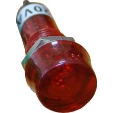 PL1-101 220В Сигнальная арматура (красная) Аско