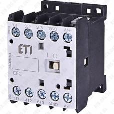Контактор миниатюрный CEC 12.10-230V AC (7A/AC3), ETI